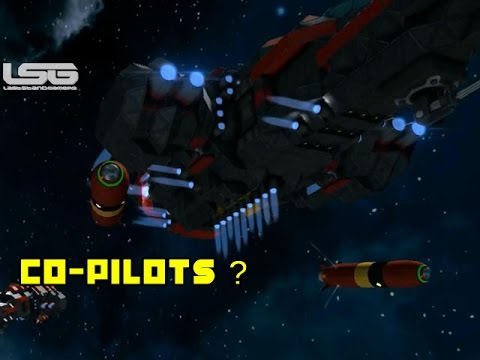Space Engineers - Small Ship Co-Pilots,Tactical Advantage Concept