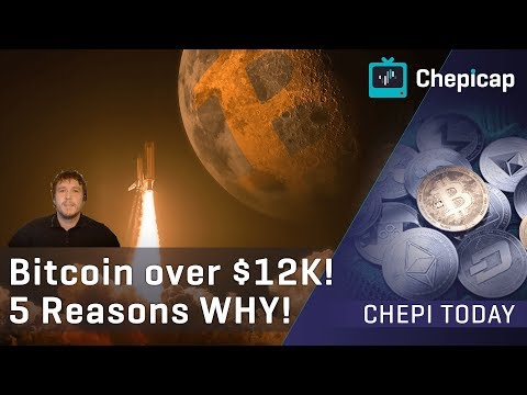 Bitcoin is over $12K!!🚀 5 REASONS WHY!  | Cryptocurrency News | Chepicap