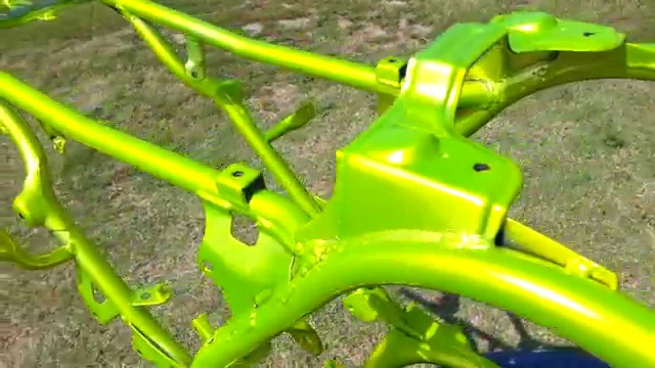 What Color Is Antifreeze >> RedKnee Solutions - Shocker Yellow - Yamaha Banshee Drag Frame - YouTube