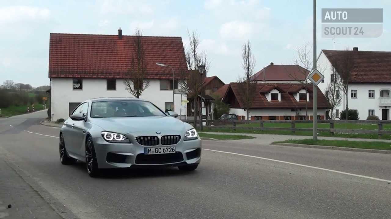 Testbericht Bmw M6 Gran Coupé 2013 Autoscout24 Youtube