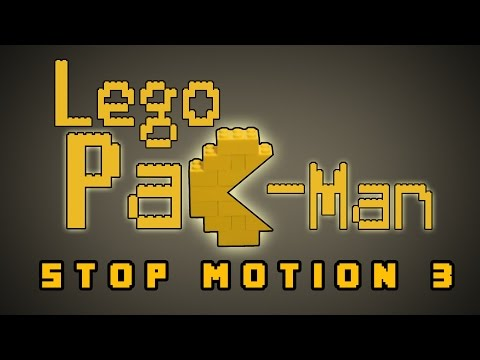 Lego Pac-Man Stop Motion 3