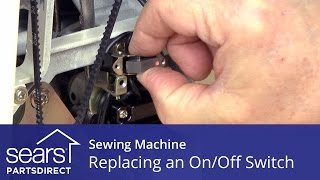 How to Replace a Sewing Machine On/Off Switch