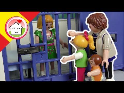 Playmobil policía en español Robo en el museo - La familia Hauser