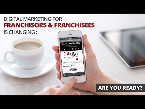 Digital Marketing Supplier for Franchisors and Franchisees | ClickTecs Corporate Video