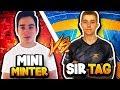 PRO vs PRO | Tag vs Mini | CAN TAG WIN 3 IN A ROW?