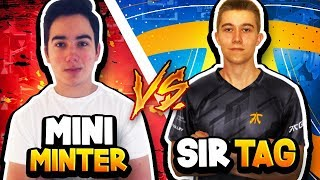 PRO vs PRO | Tag vs Mini | CAN TAG WIN 3 IN A ROW?