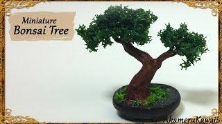 Miniature Bonsai Tree - Polymer Clay Tutorial