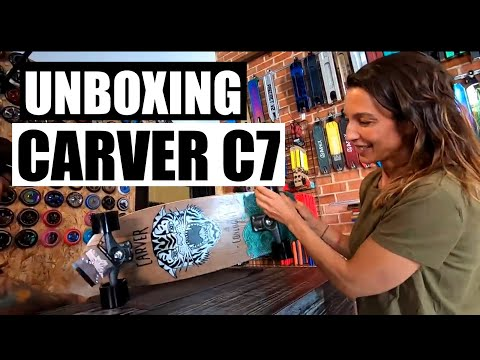 Unboxing CARVER Courtney Conlogue SEA TIGER