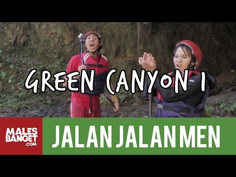 [INDONESIA TRAVEL SERIES] Jalan2Men 2014 - Green Canyon - Episode 10 (Part 1)