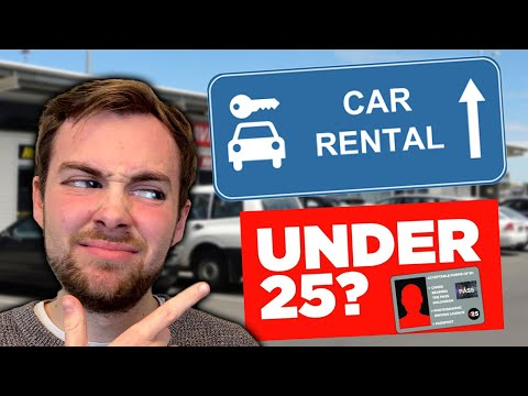 Must Knows For Renting A Car UNDER 25! [UK, Europe And USA]