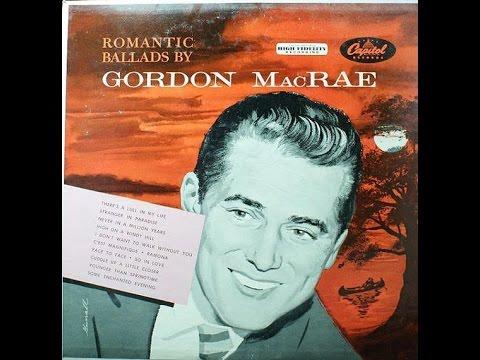 Gordon MacRae ~ Never In A Million Years