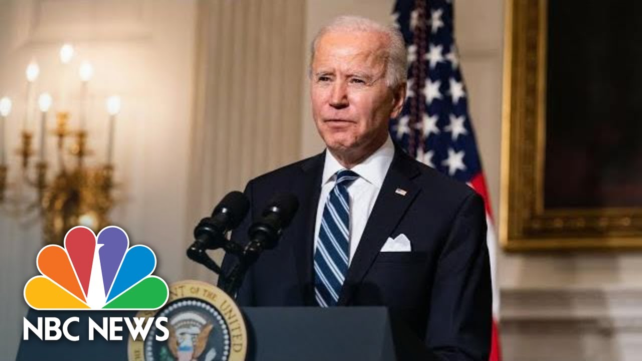 Biden Delivers Remarks On The American Rescue Plan | NBC News