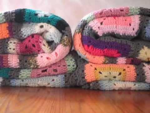 T p fulana mengana manta a crochet ganchillo youtube - Mantas lana ganchillo ...