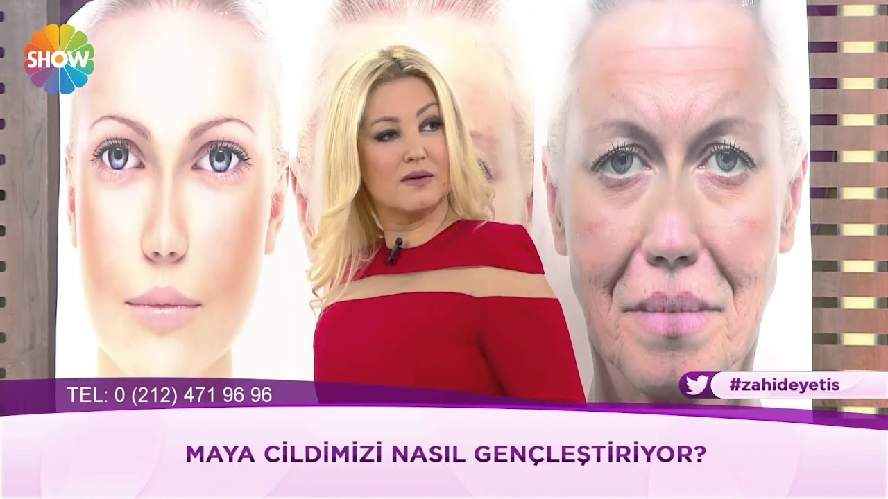 Hülya Avşar'ın güzellik maskesi