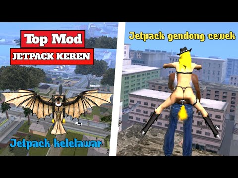 Mod Jetpack Gta San Andreas - 동영상