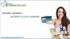"""Kostenlos Grusskarten verschicken unter """"www.kostenlose-Grusskarten.net"""""""
