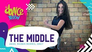 The Middle - Zedd, Maren Morris, Grey | FitDance Teen/Kids (Coreografía) Dance Video