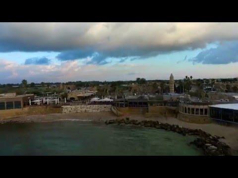 Caesarea National Park with DJI Phantom 3