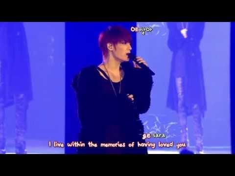 Kim Jaejoong 김재중 - All Alone (2013 Concert in Tokyo Dome) [eng + rom + hangul + karaoke sub]