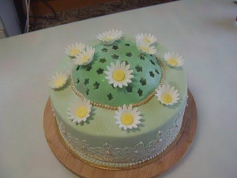 Медовый торт Ромашковое поле