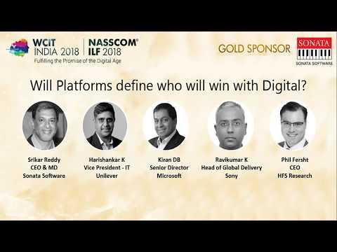 WCIT INDIA 2018 | NASSCOM ILF 2018 Session III A: 'New Tech' Deep Dive I