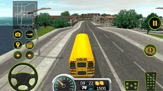 School bus driving 2017 (by 3BeesStudio) Android Gameplay [HD]