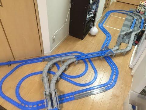 プラレールアドバンス車載カメラ動画その7複線こたつトンネル