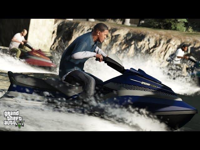 GTA V - Aventuras Subaquáticas