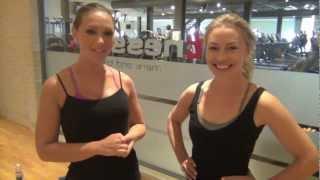 Til træning med Karen Rosenberg - Fit med Anne Bech