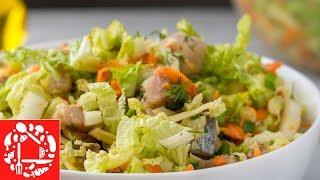 Ну очень Вкусный Салат с селедкой!  Его хочется есть снова и снова!