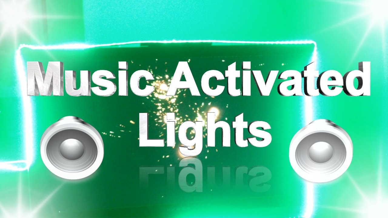 Sound Sensitive Light Circuit Diagram Activated How To Make Music Lights Youtube 1280x720