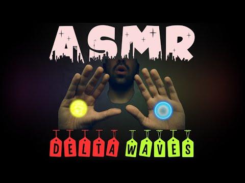ASMR Delta Waves & Hand Movements For Sleep