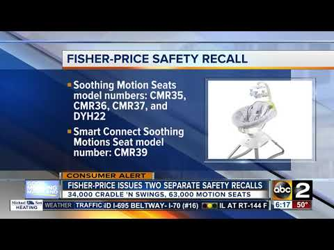 Fisher-Price Issues 2 Safety Recalls