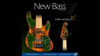 New D'Mark Jazz Bass 24 frets! | D'Mark Custom Guitars | dmark