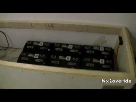 New Indoor Solar Battery Bank Bench Part 1