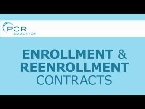 Enrollment Contracts: PCR Educator School Management System