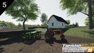 Farm Simulator 19 | Old School Farming Ep 5 | Planting time