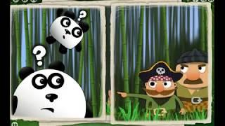 Игра 3( Три ) Панды прохождение - видео, мультики для маленьких детей
