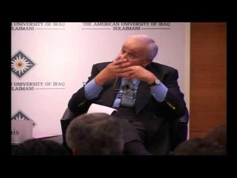 Sir Basil Markesinis: No Move Towards Liberalization in Arab Spring