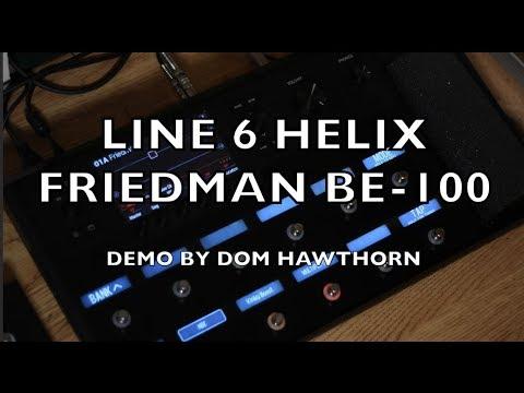 line 6 helix friedman be 100 demo youtube. Black Bedroom Furniture Sets. Home Design Ideas
