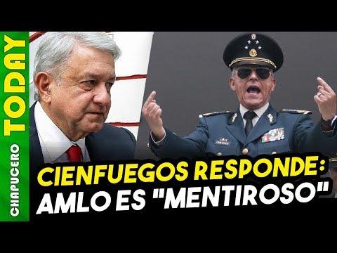 ENFURECE A CIENFUEGOS SEÑALAMIENTOS DE AMLO POR DESPIDO DE GENERAL