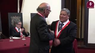 Tema:DR. CESAR GERMANÁ CAVERO PROFESOR EMÉRITO DE LA UNMSM