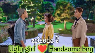 Part 8 // Handsome boy and Ugly girl Love story // She was pretty //Korean drama explained in Hindi