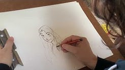 Disney Family Moments | How To Draw Rapunzel from Tangled! | Official Disney UK