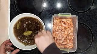 Креветки мороженные как готовить? Очень БЫСТРЫЙ и вкусный способ!