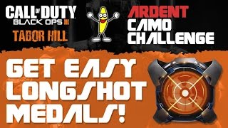 "Black Ops 3: ""How To Get Easy Longshot Medals"" (""ARDENT CAMO CHALLENGE"")"