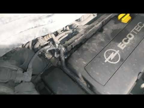 Опель Зафира жор масла и не корректная работа двигателя Z18xer