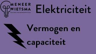 Video Natuurkunde uitleg Elektriciteit 4: Vermogen en Capaciteit (oude versie) download MP3, 3GP, MP4, WEBM, AVI, FLV Juli 2018