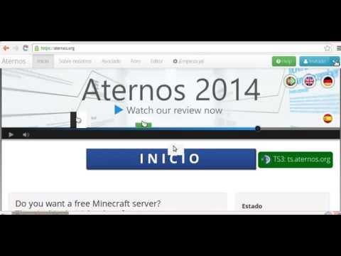 Como Crear Un Server (Aternos) | Chanchi24! - YouTube