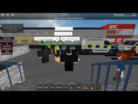 [ROBLOX] West Midlands Police-Admin abuse